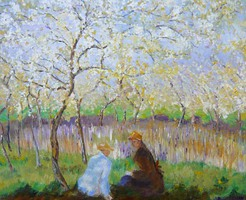 Julie Wileman after Monet